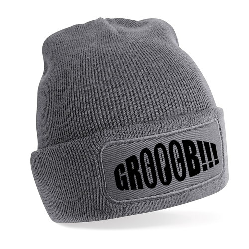 Picture of GROOOB- BEANIE (grau)